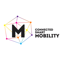 Logo Connected Smart Mobility.