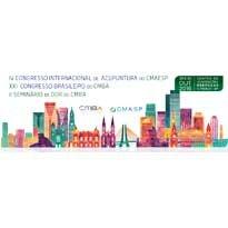 Logo IV Congresso Internacional de Acupuntura do CMeSP e XXI Congresso Brasileiro do CMBA