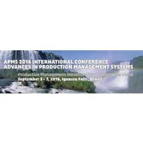 Logo APMS 2016 - International Conference Advances In Production Management Systems