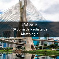 Logo JPM 2019 - 15ª Jornada Paulista de Mastologia