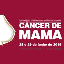 Logo VIII Simpósio Internacional de Câncer de Mama