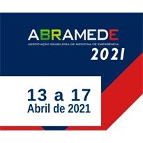 Logo VII Congresso Brasileiro de Medicina de Emergência - ABRAMEDE 2021