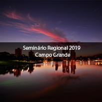 Logo Seminário Regional 2019 - Campo Grande