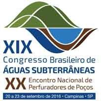 Logo XIX CONGRESSO BRASILEIRO DE AGUAS SUBTERRANEAS
