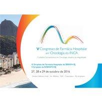 Logo V Congresso de Farmácia Hospitalar  e Oncologia do Inca