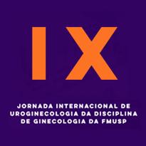 Logo IX Jornada Internacional de Uroginecologia da Disciplina de Ginecologia da FMUSP