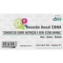Logo 32ª Reunião Anual CBNA: Congresso sobre Nutrição e Bem-Estar Animal – Aves, Suínos, Bovinos