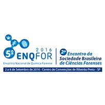 Logo 5º ENQFOR - ENCONTRO NACIONAL DE QUÍMICA FORENSE