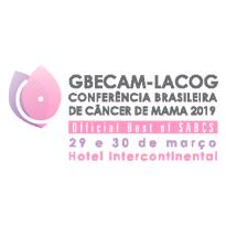 Logo GBECAM LACOG - Conferência Brasileira de Câncer de Mama 2019