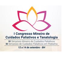 Logo I Congresso Mineiro de Cuidados Paliativos / IV Simpósio Mineiro de Cuidados Paliativos / III Simpósio de Cuidados Paliativos em Pediatria