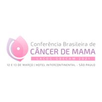 Logo Conferência Brasileira de Câncer de Mama - LACOG GBECAM 2021