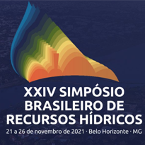 Logo XXIV Simpósio Brasileiro de Recursos Hídricos